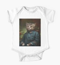 The Hermitage Court Confectioner Apprentice Cat  One Piece - Short Sleeve