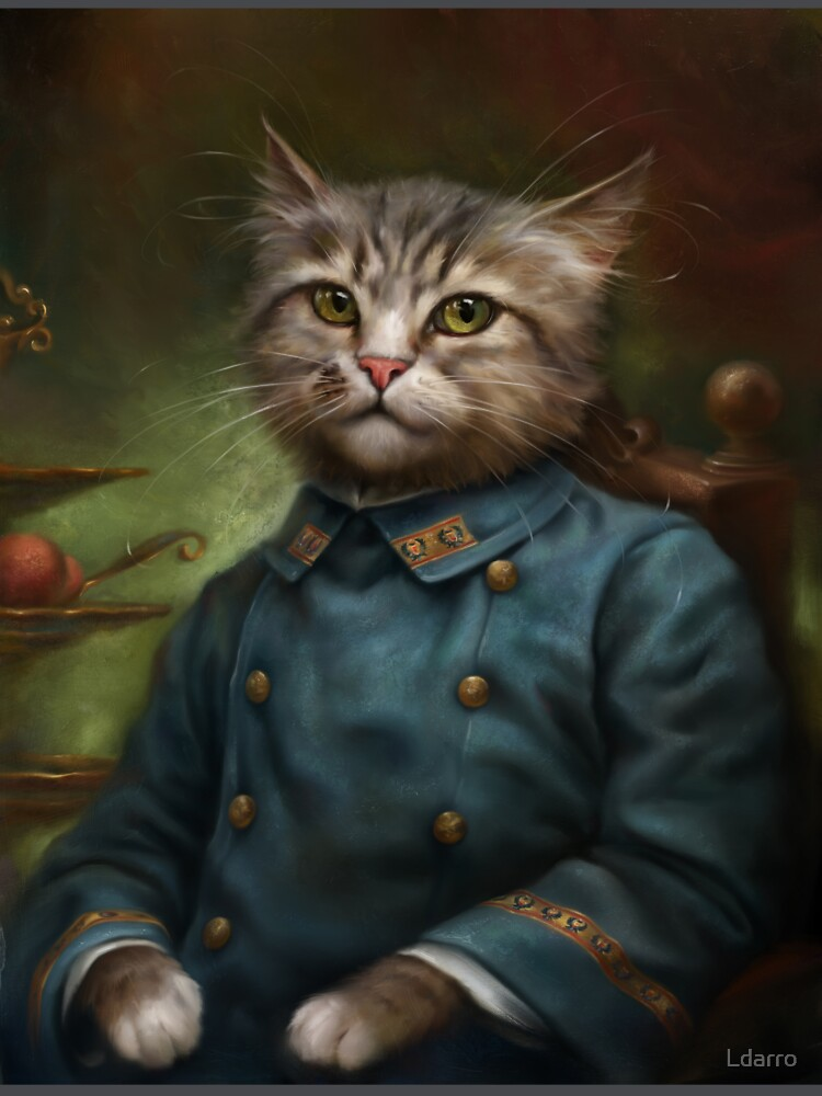 The Hermitage Court Confectioner Apprentice Cat de Ldarro