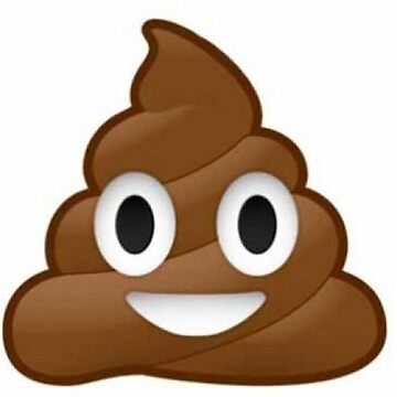Funny poop emoij by po4life