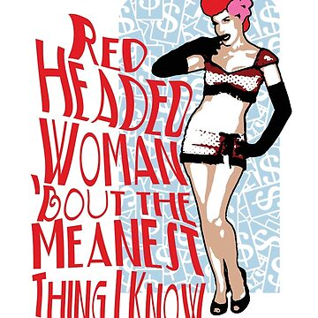 Red Headed Woman by SquareDog