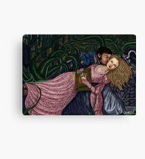 Captain Swan Fairytale Canvas Print