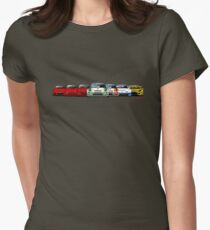 History Mazda RX-7 Women's Fitted T-Shirt