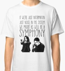 Root and Shaw - Symphony - Person of interest Classic T-Shirt