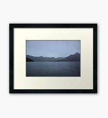 Lake Mohanda Framed Print