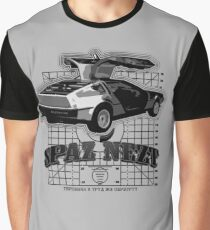 SPAZNEZ DeLorean Retrofuture Graphic T-Shirt