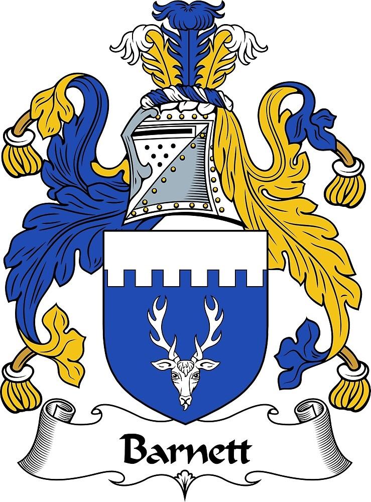 Quot Barnett Coat Of Arms Barnett Family Crest Quot By