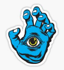 All Seeing Hand Sticker