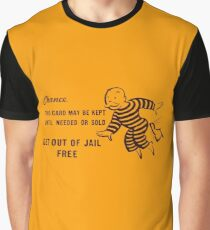 Get Out of Jail Free Graphic T-Shirt