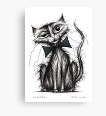 Mr Kipper Canvas Print