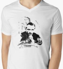 Piano Genius Men's V-Neck T-Shirt