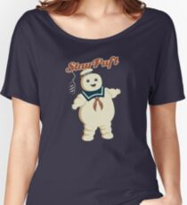 STAY PUFT - MARSHMALLOW MAN GHOSTBUSTERS Women's Relaxed Fit T-Shirt