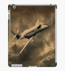 Jet Through The Clouds  iPad Case/Skin