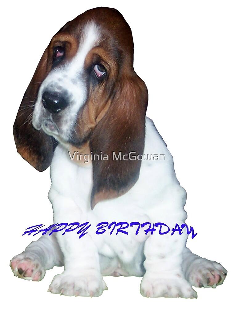 HAPPY BIRTHDAY by Virginia McGowan