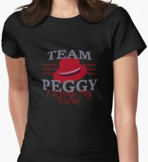 Vintage Team Peggy Women's Fitted T-Shirt