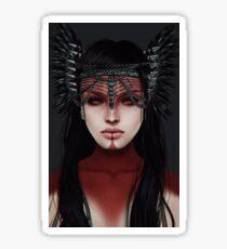 warrior.  Sticker
