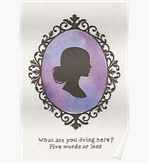 Buffy Cameo Poster