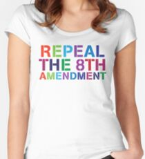 Repeal The 8th - Ireland Women's Fitted Scoop T-Shirt