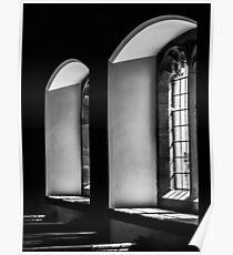 English Church Windows Poster
