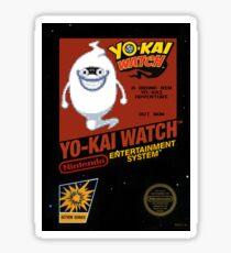 YO-KAI Watch NES Box Art Sticker