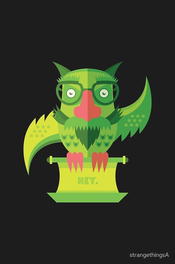 Owl See You Later by strangethingsA