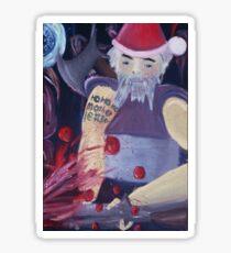 ho ho ho mother !@#$ Sticker