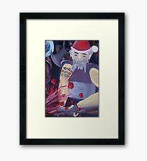ho ho ho mother !@#$ Framed Print