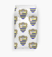 Holmes Coat of Arms/Family Crest Duvet Cover