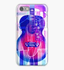 5161i2 Guitar with Face iPhone Case/Skin