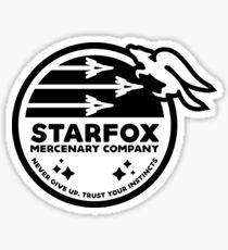 Star Fox Mercenary Patch Sticker