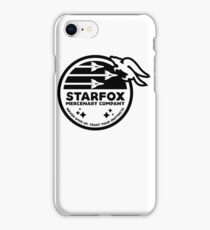 Star Fox Mercenary Patch iPhone Case/Skin
