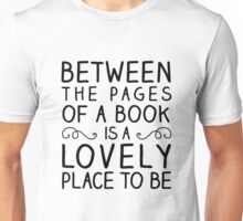 Between the Pages Unisex T-Shirt