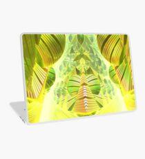 Neon Green Ocean Liner  Laptop Skin