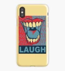 LAUGH iPhone Case