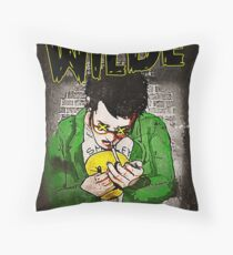 R.L. Amaro's WILDE (Graphic Novel Cover) Throw Pillow