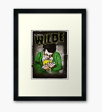 R.L. Amaro's WILDE (Graphic Novel Cover) Framed Print