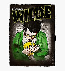 R.L. Amaro's WILDE (Graphic Novel Cover) Photographic Print