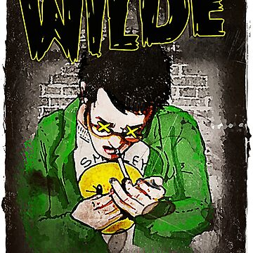 R.L. Amaro's WILDE (Graphic Novel Cover) by RLAmaro