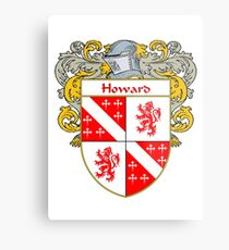 Howard Irish Coat of Arms/Family Crest Metal Print