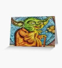 Use The Force Greeting Card