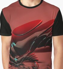 Chameleon Red Graphic T-Shirt