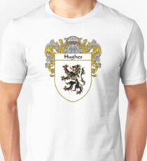Hughes Coat of Arms/Family Crest Unisex T-Shirt