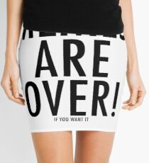 Memes Are Over! (If You Want It) Mini Skirt
