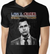 Nick Amaro from Law and Order svu Men's V-Neck T-Shirt