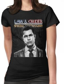 Nick Amaro from Law and Order svu Womens Fitted T-Shirt