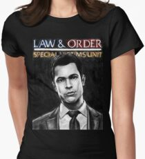 Nick Amaro from Law and Order svu Women's Fitted T-Shirt