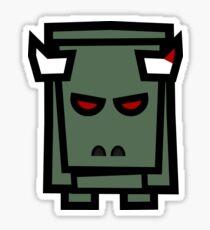 Enough Bull, Gimme Brains Sticker