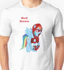 Rainbow Dash Red Arrow Unisex T-Shirt