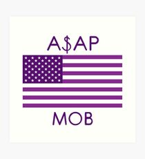 Lámina artística ASAP MOB of America