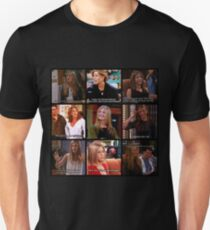 Rachel Green Quotes Collage T-Shirt