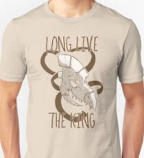 Long Live The King - Sand Slim Fit T-Shirt